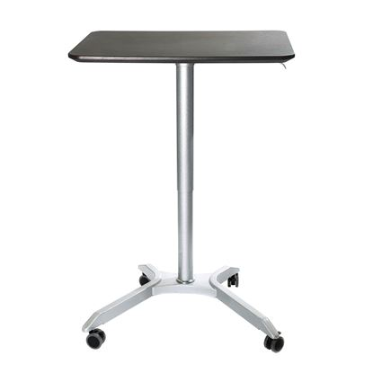 Picture of AIRLIFT XL Sit-Stand Mobile Desk, Espresso