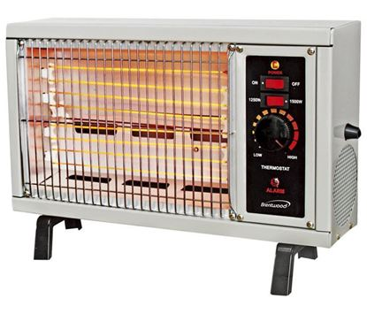 Picture of Radiant heater with adjustable thermostat