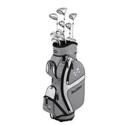Picture of Tour Edge LADY EDGE PACKAGE SET (Silver/Black or Silver/Teal)