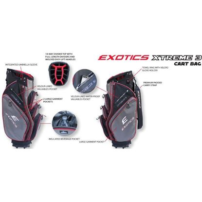 Picture of Tour Edge Exotics Xtreme 3 Stand Bag