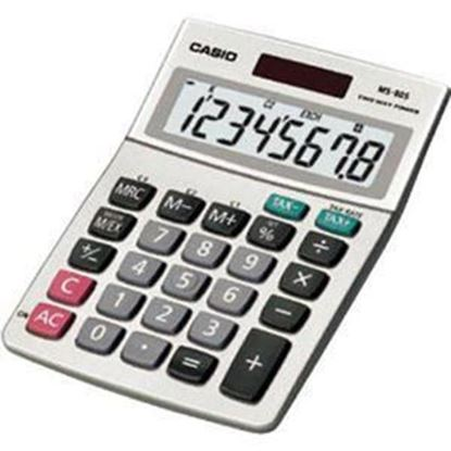 Picture of Casio MS-80S-S-IH Desktop Basic Calculator