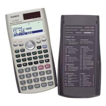 Picture of Casio FC-200 Financial Calculator