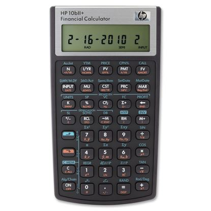 Picture of HP 10BIIPlus Financial Calculator