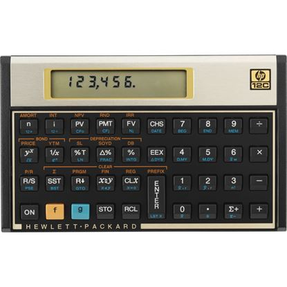 Picture of HP 12C Financial Programmable Calculator