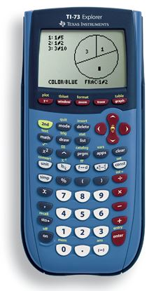 Picture of Texas Instruments TI-73 Explorer Graphing Calculator