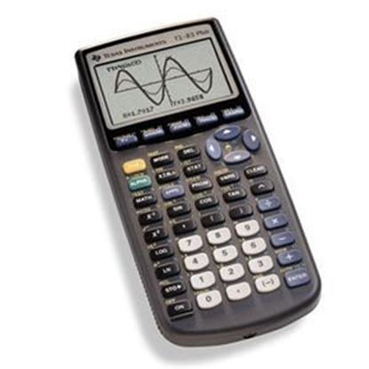 Picture of Texas Instruments TI-83 Plus Graphing Calculator