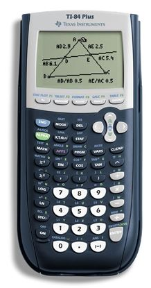 Picture of TI-84 Plus Graphing Calculator