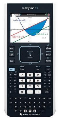 Picture of TI-Nspire™ CX Handheld Graphing Calculator