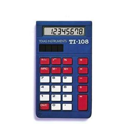Picture of TI-108 Elementary Calculator