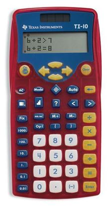 Picture of Texas Instruments TI-10 Elementary Calculator