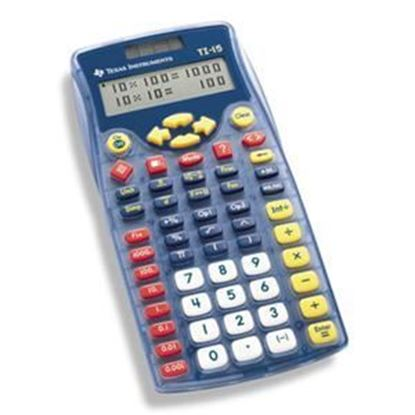 Picture of Texas Instruments TI-15 Explorer Elementary Calculator