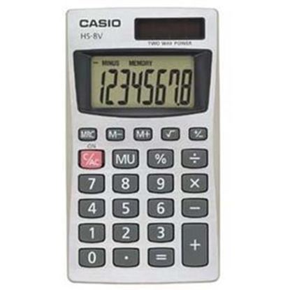 Picture of Casio HS-8V Basic Calculator