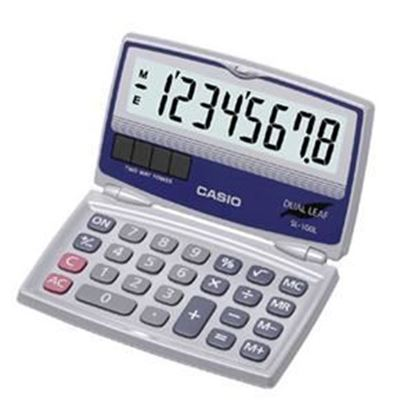 Picture of Casio SL-100L Foldable Calculator