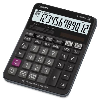 Picture of Casio DJ-120D Check Correct Calculator