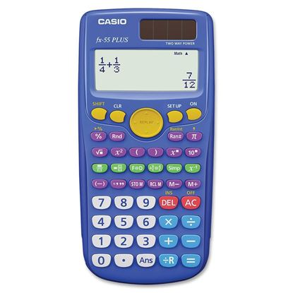 Picture of Casio FX-55 Plus Fraction Calculator