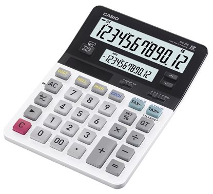 Picture of Casio D-220 Dual Display Calculator