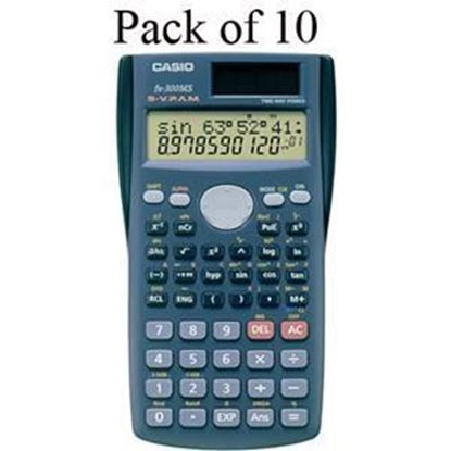 Picture of Casio FX-300MS Scientific Calculator - Teachers 10 Pack