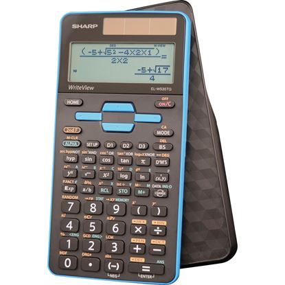 Picture of Sharp EL-W535TGBBL Scientific Calculator with WriteView™ 4 Line Display