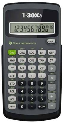 Picture of Texas Instruments TI-30Xa Scientific Calculator