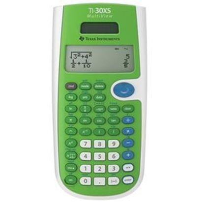 Picture of Texas Instruments TI-30XS Scientific Calculator - Blue or Green