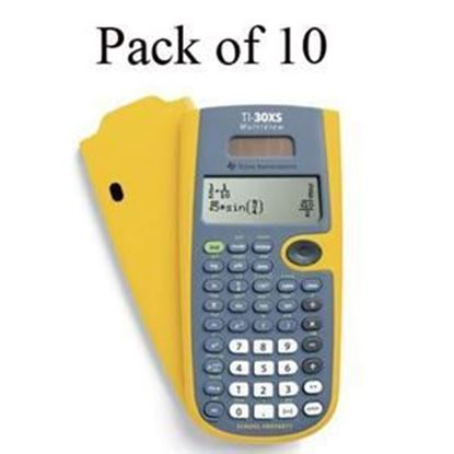 Picture of Texas Instruments TI-30XS Scientific Calculator - Teachers Kit