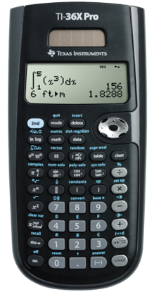 Picture of Texas Instruments TI-36X Pro Scientific Calculator