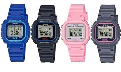 Picture of Casio Classic LA20WH Womens Wrist Watch (Blue, Black, Pink, or Gray)